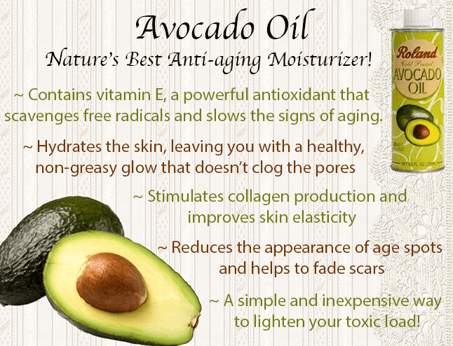 Avocado Oil Skin Benefits