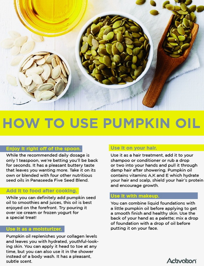 Pumpkin Seed Oil Dosage, Timing and Best Price