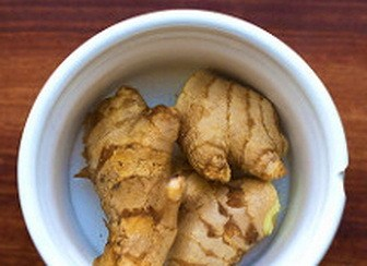 Ginger root for tummy troubles